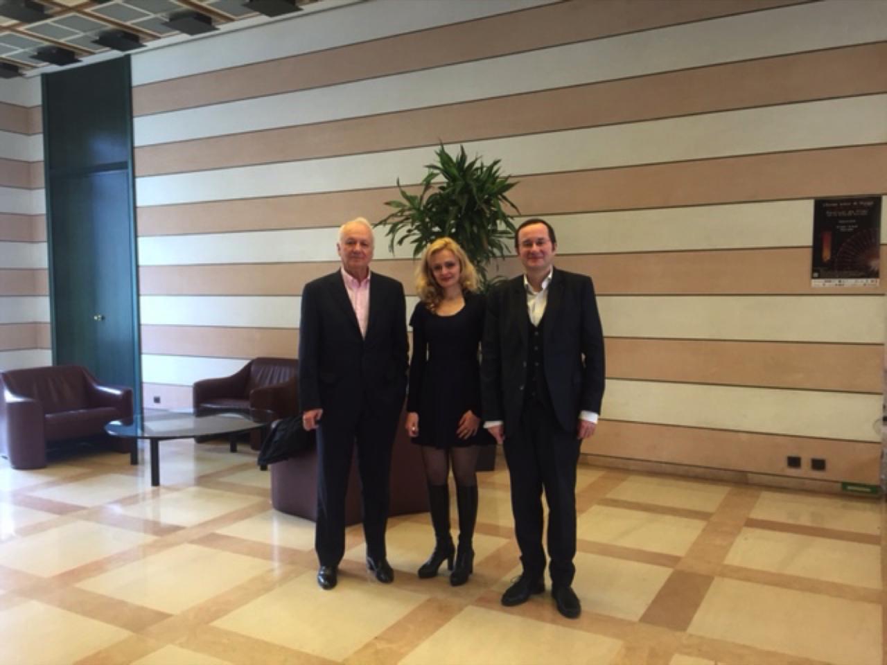Conférence-débat avec M. Cavada - PARLEMENT'2015