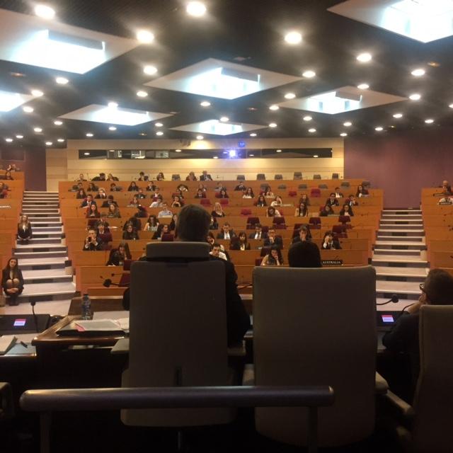 Hémicycle du Conseil Régional Île-de-France, PARIS
