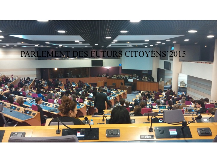 Parliament of future citizens- Regional Council Île-de-France PARIS