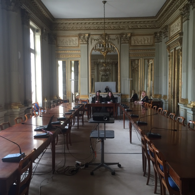 Spanich committee - Île-de-France Regional Council- PARIS