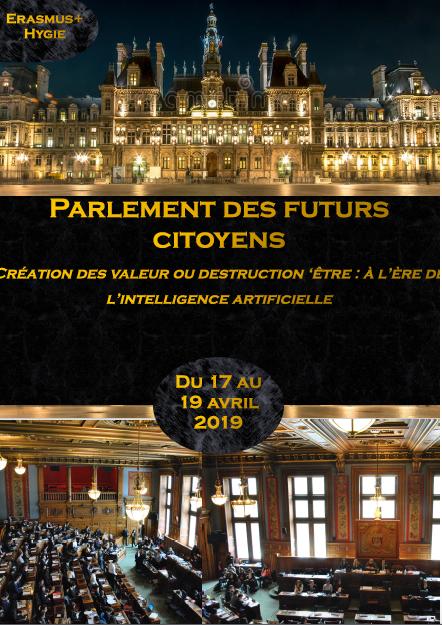 Invitation au Parlement des futurs citoyens 2019