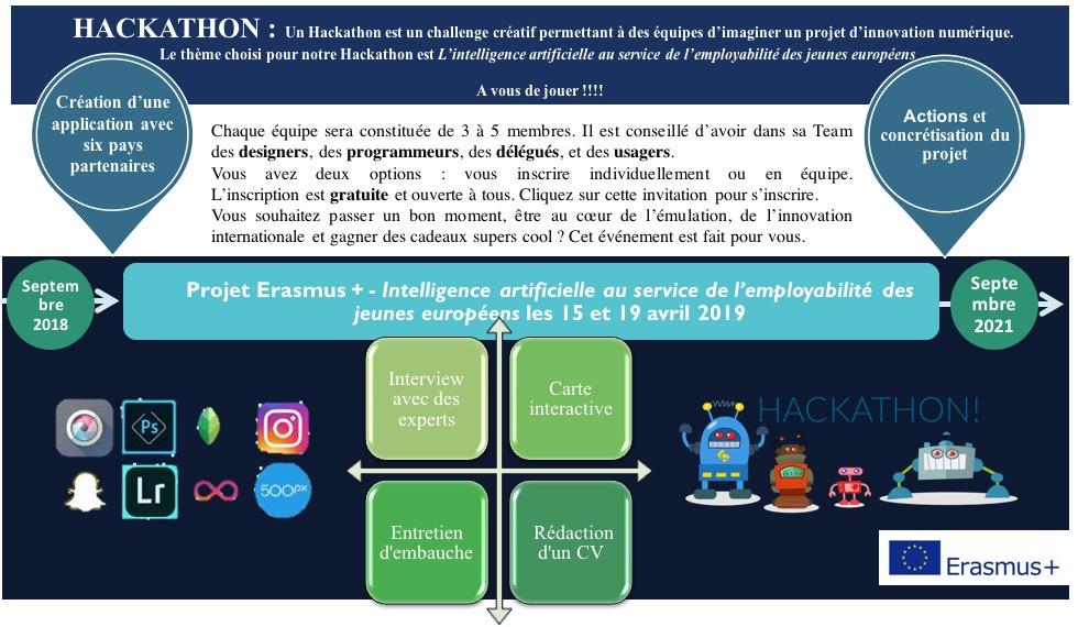 Carton d invitation hackathon